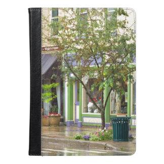 City - Owego NY - On a rainy day iPad Air Case