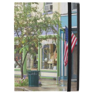 """City - Owego NY - On a rainy day iPad Pro 12.9"""" Case"""