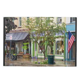 City - Owego NY - On a rainy day Powis iPad Air 2 Case
