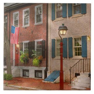 City - PA Philadelphia - American townhouse Tile