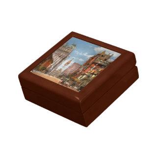 City - PA Philadelphia - Broad Street 1905 Keepsake Box