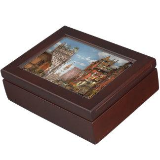 City - PA Philadelphia - Broad Street 1905 Memory Box