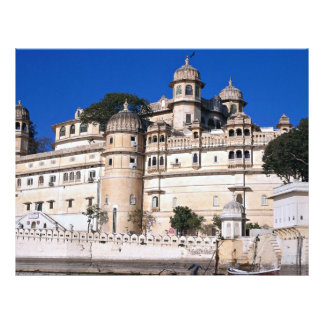 City Palace, Udaipur, India Full Color Flyer