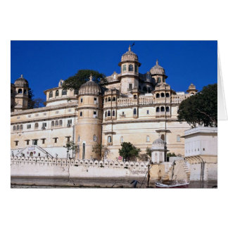 City Palace, Udaipur, India Greeting Card