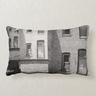 City Panes Lumbar Pillow