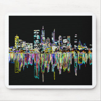 City panorama mouse pad