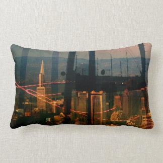 City Panoramax San Francisco scape Lumbar Pillow