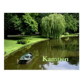 City Park Kampen Postcard