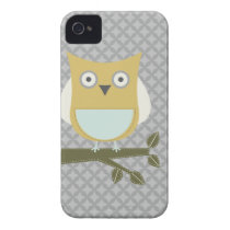 City Park Owl #4 iPhone 4 Case-Mate Case Thin