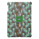 City Pattern with Little House iPad Mini Cases