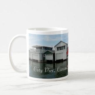 City Pier Panorama Classic White Coffee Mug