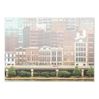 City - Pittsburg Pa - Fort Pitt Blvd Card