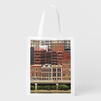 City - Pittsburg Pa - Fort Pitt Blvd Grocery Bag