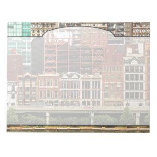 City - Pittsburg Pa - Fort Pitt Blvd Notepad