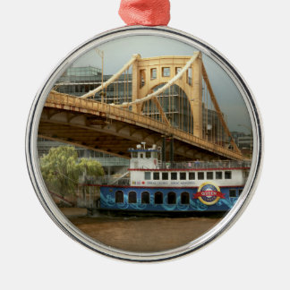 City - Pittsburg PA - Great memories Metal Ornament