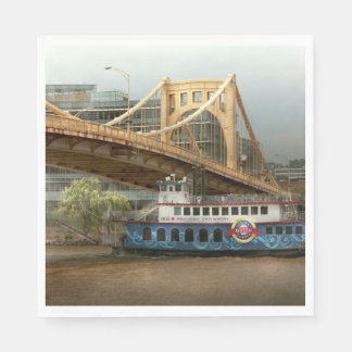City - Pittsburg PA - Great memories Napkin
