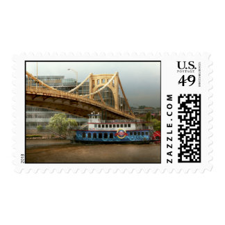 City - Pittsburg PA - Great memories Postage
