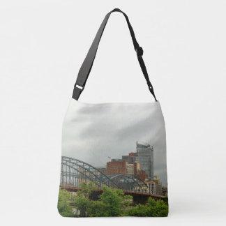 City - Pittsburg PA - The grand city of Pittsburg Crossbody Bag