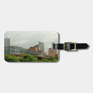 City - Pittsburg PA - The grand city of Pittsburg Luggage Tag
