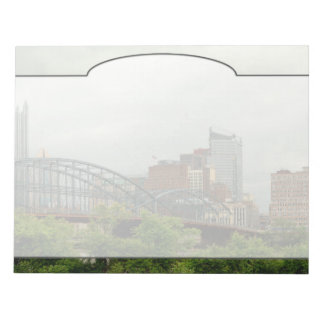City - Pittsburg PA - The grand city of Pittsburg Notepad