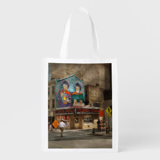 City - Pittsburg, PA - Wiener World Grocery Bag