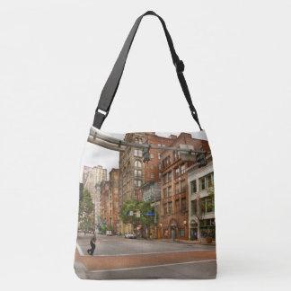 City - Pittsburgh PA - Running late Crossbody Bag