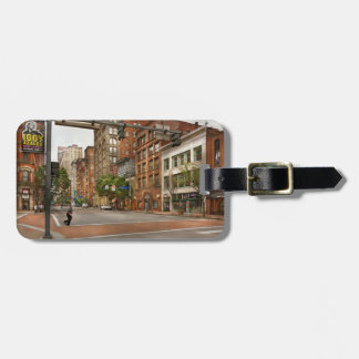 City - Pittsburgh PA - Running late Luggage Tag