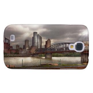 City - Pittsburgh, PA - Smithfield Bridge Samsung Galaxy S4 Cover