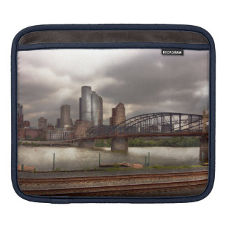 City - Pittsburgh, PA - Smithfield Bridge Sleeves For iPads