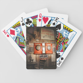 City Pool Room at Noon Bicycle Playing Cards