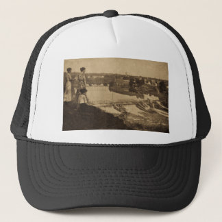 City Power Dam, Allegan, Michigan Trucker Hat