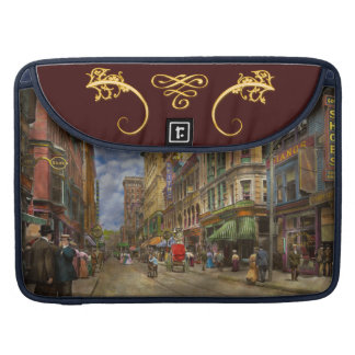 City - Providence RI - Living in the city 1906 Sleeve For MacBook Pro