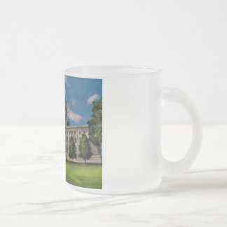 City - Providence, RI - The capitol Frosted Glass Coffee Mug