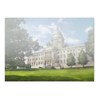 City - Providence, RI - The capitol Personalized Invitation