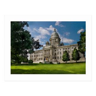 City - Providence, RI - The capitol Postcard