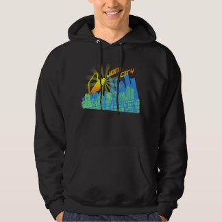 City R1 Black Hoodie
