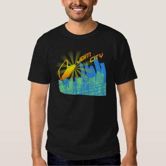City R1 Black T-shirt