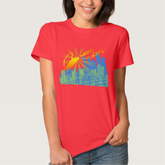 City R1 Ladies Red T-shirt