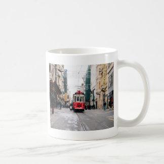 City Rail Car Coffee Mug