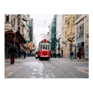 City Rail Car Postcard