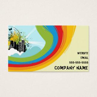 City Rainbow business card