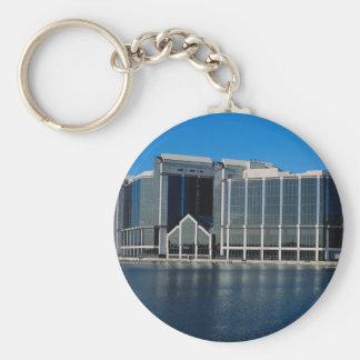 City Reach, Millwall Dock, England, U.K. Keychain