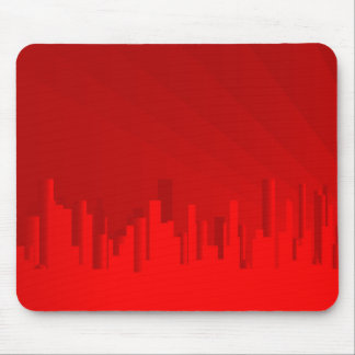 City Redscape Mouse Pad