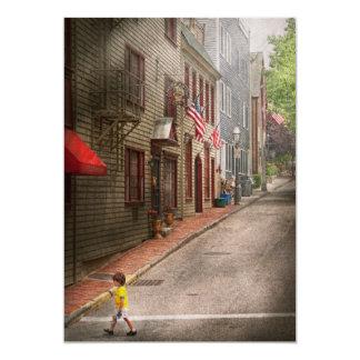 City - Rhode Island - Newport - Journey  Card
