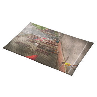 City - Rhode Island - Newport - Journey  Cloth Placemat