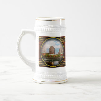 City - RI - Providence - The city of Providence Beer Stein