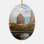 City - RI - Providence - The city of Providence Ornament