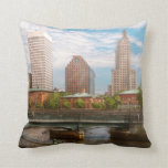 City - RI - Providence - The city of Providence Pillows