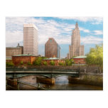 City - RI - Providence - The city of Providence Postcard
