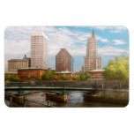 City - RI - Providence - The city of Providence Rectangle Magnets